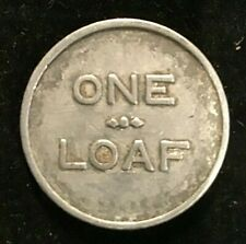 1920 -1930 Australian Cessnock District Co Op Society LTD Bakery 1 Loaf Token .