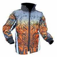 Wulfsport Kids Cub Aztec Motocross MX Quad Bike Jacket - Orange