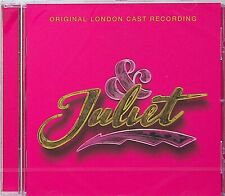 & Juliet -Original London Cast Recording Musical CD 2019 (NEW) Romeo/Comedy