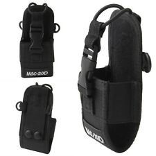 Portable Nylon Pouch Holster Bag Case MSC-20D For Baofeng Motorola Kenwood Radio
