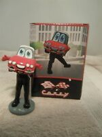 "MOTOR CITY WHEELS CHEVY DETROIT TIGERS MASCOT CAREY BOBBLE HEAD 4 1/2"" TALL"