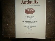 Antiquity. Quarterly Review of Archaeology. June 1976