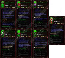 DIABLO 3 ROS XBOX ONE [softcore] pieno PRIMAL IMMORTALE Kings chiamata Barbaro Set