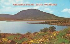 Postcard Greetings from Mt Scott Oklahoma