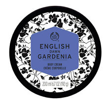 Body Shop ◈ ENGLISH DAWN WHITE GARDENIA ◈ Silky Butter Moisturiser Cream ◈ 200ml