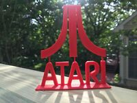 Atari Logo video game art  FAST SHIPPING! MADE IN USA!