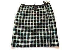NEW Requirements  Plaid  Pencil Skirt Sz 14