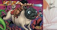 Battlepug Volume 5 The Paws of War Hardcover GN Signed Mike Norton New NM