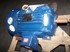 New Marathon 20 Hp Ac Electric Motor 256t Frame 460 Vac 3537 Rpm