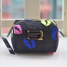 Marc by Marc Jacobs women nylon  Black& Mixcolor Lipsclutch handbag cosmetic bag