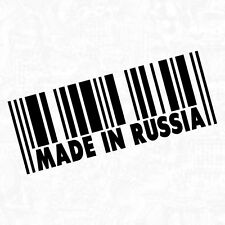Made In Russia Russland AK oldschool Shocker Sticker Auto Aufkleber JDM 15cm