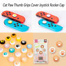 Silicone Cat Paw Controller Thumb Grips Cover Cap for Nintendo Switch / Lite New
