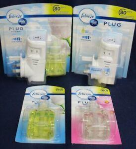 Ambi Pur Febreze Home Air Freshener Plug-In / Starter Kit / Refills x2 /U CHOOSE
