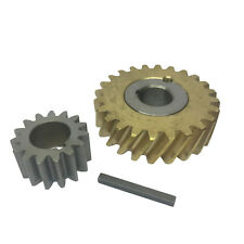 Replacement Hobart 50Hz Worm Gear Bushing Assy, 15 Toothed Gear And Key For A200