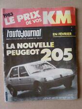 Auto-Journal No 22-82,Toyota Celica Supra Censured,Citroen Bx 14RE,Opel Corsa 1L