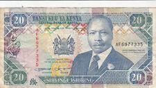 Billet banque KENYA 20 SHILLINGS 14-09-1993 état voir scan 335