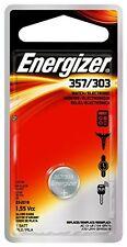 2 Pack Energizer Watch Battery 1.55 Volt 357/303 1 Each