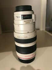CANON ZOOM LENS EF 28-300 mm 1:3.5-5.6 L IS USM  used less than 20 hours