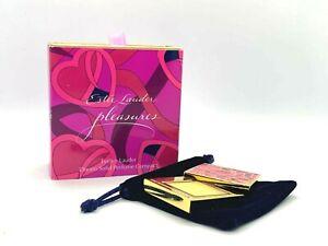 Estee Lauder Pleasures Evelyn Lauder Dream Solid Perfume Compact ~ .02 oz ~ BNIB