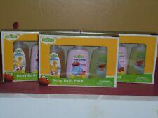 Sesame Street Baby Bath Pack. Baby Wash, Shampoo & Lotion x 3 packs