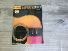 New Guitar Method Book 1 With Cd Instruction Book