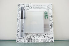 Starbucks: 3 Create Your Own Gift Card with Sharpie ($0 balance)
