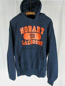 Vtg 90s 00s Champion Premium Reverse Weave Sweatshirt XL Hobart College Lacrosse