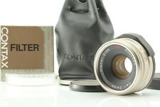 【TOP MINT IN CASE】 Contax Carl Zeiss Planar 35mm f/2 T* For G1 G2 From Japan 447