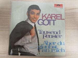 Single /  Karel Gott ?– Tausend Fenster / Aber Du Glaubst An Mich / RARITÄT /
