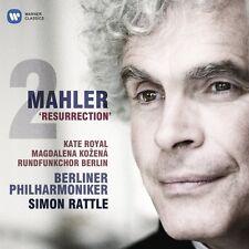 Rattle/royal/Kozena/BP-symphonie 2-résurrection 2 CD KLASSIK NEUF Mahler