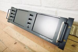 vaddio PreVIEWHD Dual 6.4 Dual LCD Panel Display excellent condition*ChurchOwned