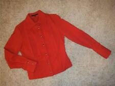 GUCCI RED Casual Snap Down jacket Size Small/ 40