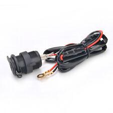 12V Waterproof Car Boat Motorcycle Cigarette Lighter Socket Power Plug Outlet