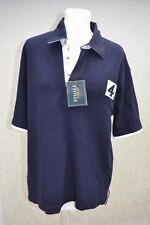 BRAND NEW * RYDALE * NAVY BLUE SOFT WASH COTTON POLO SHIRT * TOP * MENS XS *