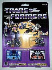 Transformer G1 decepticons cassette laserbeak & frenzy mint shipped by speedpak