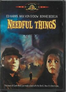 Needful Things (DVD, 2002) 1993, Stephen King, NEW!