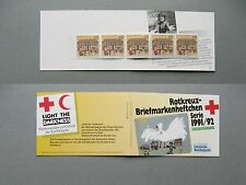 GERMANY BRD, privat booklet 1991, Red Cross Wohlfahrtsmarken, 60 pf MNH Büdingen