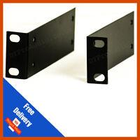 1u Rack Mounting Bracket | Steel | Rack Ears | Sold in Pairs | 19inch Racking