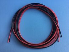 20' Feet 18 AWG Flexible Silicone Wire 18 Gauge ga Tin Copper 10'-Red 10'-Blk RC