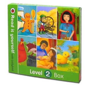 Read it yourself With Ladybird 6 Books Box Set Level 2 NEW