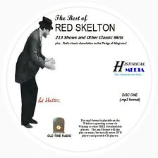 BEST OF RED SKELTON - 213 Shows Old Time Radio In MP3 Format OTR 3 CDs