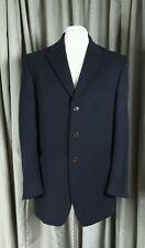 Marks & Spencer Collezione Lana/Cashmere Azul Marino Blazer 42 M Excelente Estado