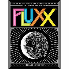 FLUXX THE CARD GAME V5.0 BY LOONEY LABS 2-6 PLAYERS AGE 8+ - NEW