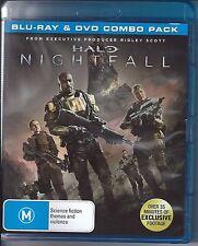 Halo - Nightfall (Blu-ray, 2015) Only Aust  Region B