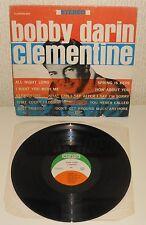 BOBBY DARIN Clementine 1964 LP 1st USA press Original Clarion 603