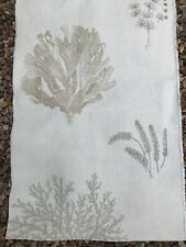 LAURA ASHLEY FABRIC REMNANT IN LINEN FOR UPHOLSTERY CUSHIONS ETC.