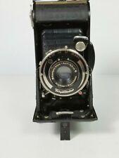 1A) Voigtlander BESSA Vintage Folding Film Camera Braunshweig 105mm Lens Germany