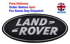 Land Rover Badge Emblem Front Rear 86mm Grill Boot Evoque Defender Sport Black