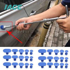 30x Dellenreparaturwerkzeug Karosserieschieber Hammer Kleber Abzieher Lifter