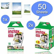 Fuji Instax White 50 instant Film For Fujifilm Mini 8 70 90 50s 25 7s 300 SP-1